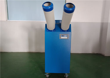 China Two Flexible Ducts 1 Ton Spot Cooler / Portable Cooling Units For Industrial Kitchen supplier