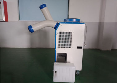 China Commercial Portable AC Residential Spot Coolers Single Phase With Movable Wheels supplier