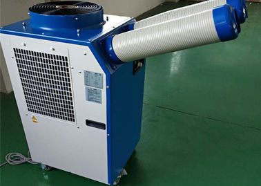 China 1.5 Ton Spot Cooler Portable Spot Coolers Two Flexible Hoses For Temporary Cooling supplier