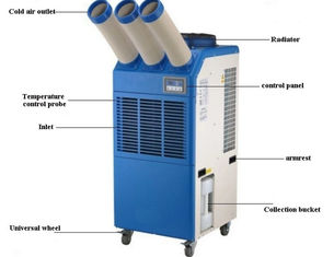 China 220v 6500w Portable Spot Air Conditioner With 22000btu Cooling Capacity supplier