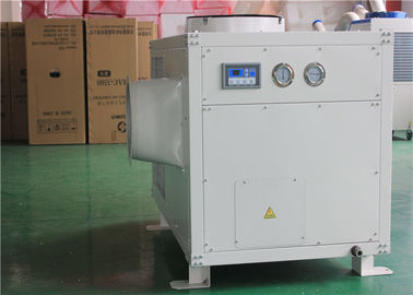 China Industrial Spot Cooler Rental , 61000btu Temporary Air Conditioning Rental supplier
