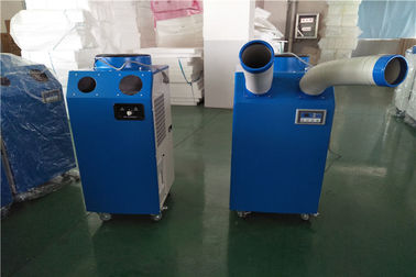 China 3500W Industrial Portable AC / R410a Temporary Commercial Ac Units Two Hose supplier