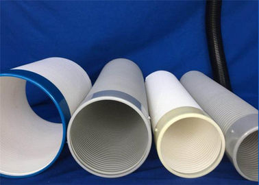 China Industrial Safety Pvc Flexible Ducting / Portable Air Conditioning Duct Anti - Static supplier