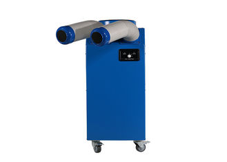 China Low noise design Spot cooler Rental , Portable AC Cooling 11900BTU supplier