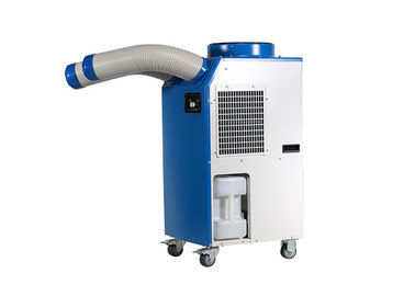 China R410A Refrigerant Spot Cooler Rental , Double ducts Spot Cooling supplier