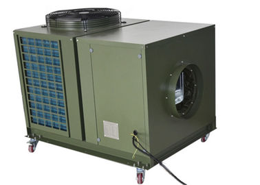 China 12KW Tent Air Conditioner Provide 48000BTU Cooling For Rest Station Low Noise distributor
