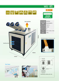 China Refrigerant Cooling Style Portable Air Conditioner 28900BTU Customized Shape distributor