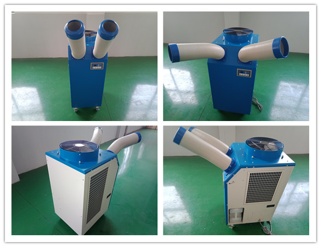 Professional Spot Cooling Units Refreshing Factories / Workshops 5500W Compressor
