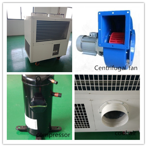25000W Commercial Portable Air Conditioning Units For Cooling Industrial Machine
