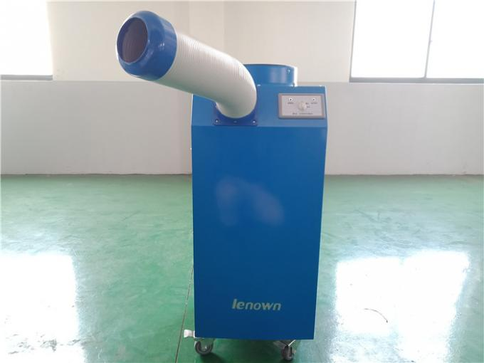 Floor Standing Temporary Air Conditioning For 1000W Temporary Office Cooling