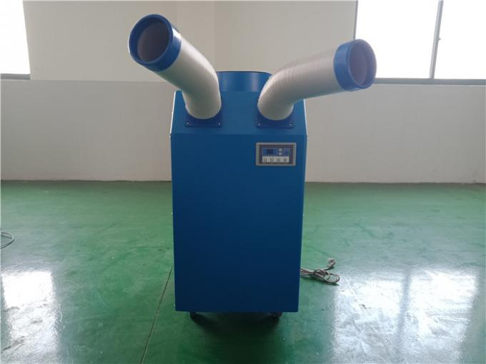 Customized 5500W Spot Coolers Portable Air Conditioners With Two Flexible Hoses