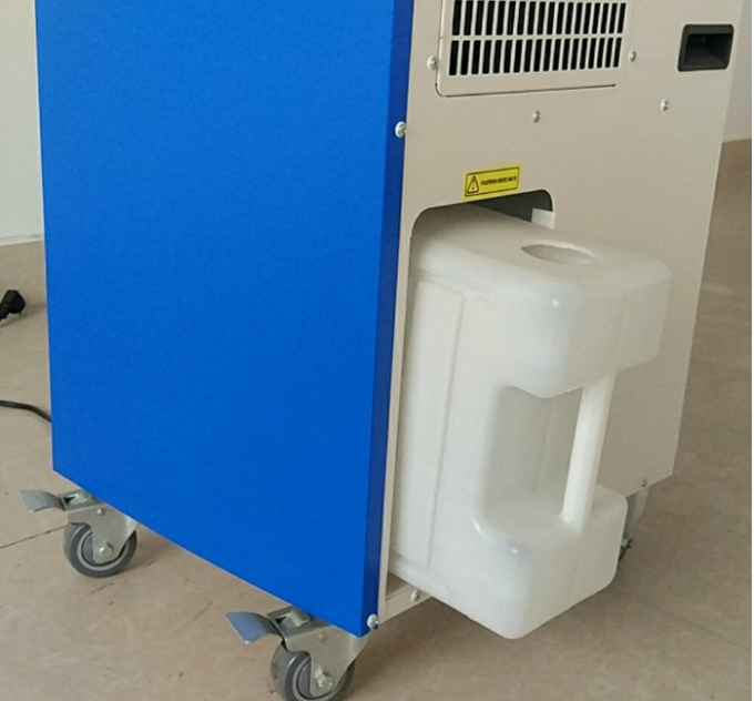 Industrial Spot Air Cooler 25sqm , 6500w Floor Standing Cooler Air Cooling