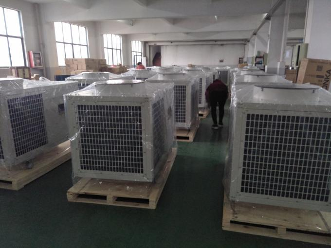5 Ton Spot Cooling Systems , 3800V 50HZ 62000BTU Industrial Air Conditioner