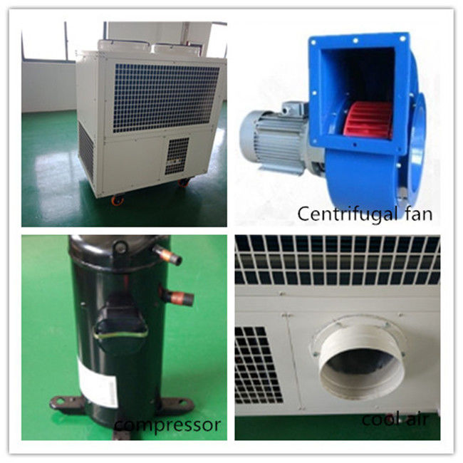 Floor Standing Small Air Cooler / Commercial Portable Air Conditioner Cooler